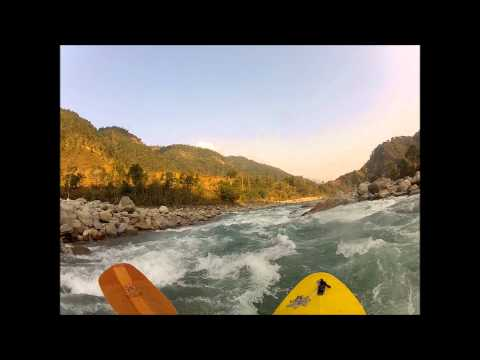Nepal Trip 2012 Kayaking Highlights