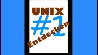 [UNIX entdecken] Folge #1 - ls cd cat