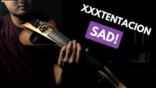 XXXTentacion SAD! VIOLIN COVER - YAMAHA YEV 105