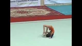 ИВАЙЛА НЕДЕЛЧЕВА-5-ти Детски Турнир по Художествена Гимнастика за празника на Бургас-Никулден 2014г.