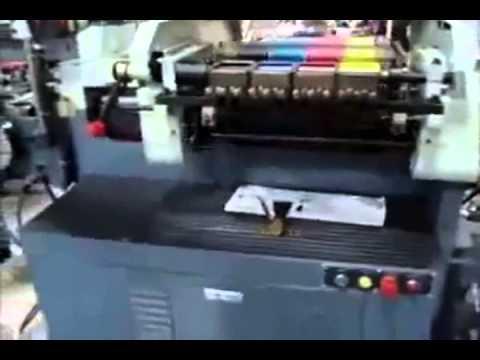 Çok Fonksiyonlu Etiket Baskı Makinesi