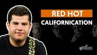 Videoaula Californication (aula de guitarra)