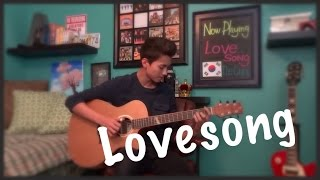Lovesong - The Cure - Fingerstyle Guitar cover