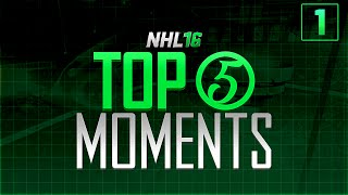 NHL 16 - Top 5 Moments of the Week Episode 1