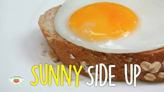 How to cook perfect sunny side-up eggs