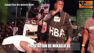PRESTATION DE MIKAELO  DJ   AU CONCERT LIVE DE DJ LEO AU NPA