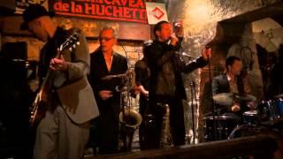 Drew Davies Rhythm Combo at Caveau de la Huchette, Paris, France, October 2013