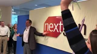 NextGen Healthcare logo reveal