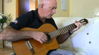 A Whiter Shade of Pale - Procul Harum for solo classical guitar