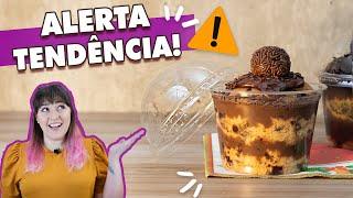 COPOTONE da Felicidade - Panetone no COPO BOLHA! | Tábata Romero