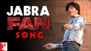 Jabra FAN Anthem Full AUDIO Song | Shah Rukh Khan | #FanAnthem width=