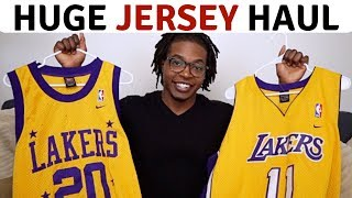 Huge Jersey Haul To Resell On eBay & PoshMark | Reselling Mens Clothing | Thrift Haul # 18