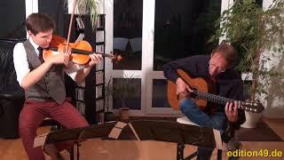 Amar Pelos Dois Sobral ESC Winner Portugal 2017 Viola Guitar Cover Bernard Boris Björn Bagger