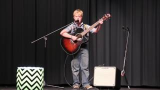 Nathan Foster, Talent Show, CW Ruckel Middle School, Simple Man Acoustic
