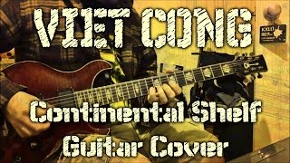 Viet Cong - Continental Shelf (guitar cover + TAB)