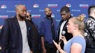 Linkin Bridge Interview at America's Got Talent Season 11 Semi Finals