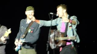 Coldplay - Speed Of Sound - Live in München 2012 (HD)