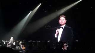 Michael Bublé: Unforgettable (Nat King Cole cover) LIVE 3RD ROW Bangkok 2015