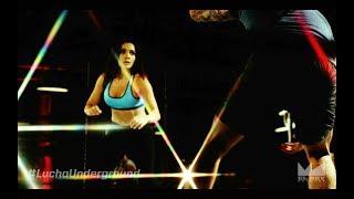 Lucha Underground: Melissa Santos entrena con Fénix