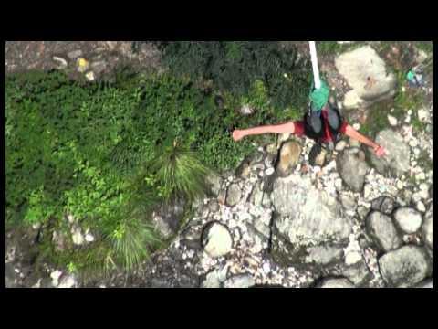 Shishir Pratap Singh.. Jumped from 160 metre tropical gorge in Kathmandu :)