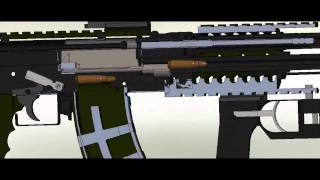 Video Presentation for tactical ak-47