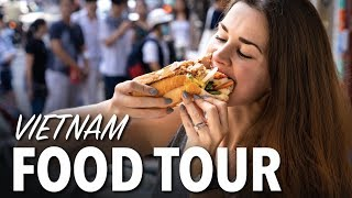 SAIGON'S FAMOUS FOOD - Vietnam Food Tour - Best Banh Mi