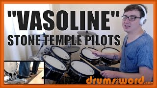 ★ Vasoline (Stone Temple Pilots) ★ Drum Lesson PREVIEW | How To Play Song (Eric Kretz)