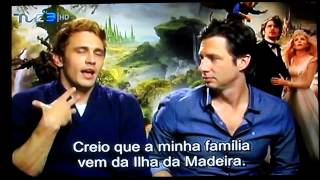 James Franco talks about portuguese origins in Madeira Island
