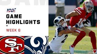 49ers vs. Rams Week 6 Highlights   NFL 2019