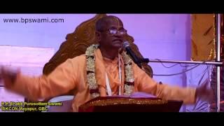 Sanyas Pastimes of Lord Chaitanya, Mayapur Gaur Poornima Festival 2010,BPSwami width=