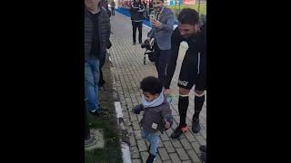 Atiba'nın Oğlu Noah Ersan Gülüm'ün Yiğeni Ali İle Tanışıyor