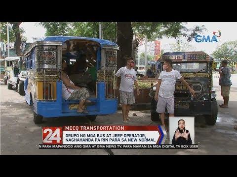 Grupo Ng Mga Bus At Jeep Operator Naghahanda Pa Rin Para Sa New