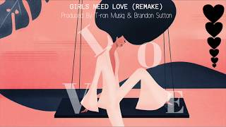 Summer Walker - Girls Need Love Instrumental (Remake) Prod. T-ron Musiq & Brandon Sutton