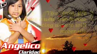 Angelico Claridad-Too Much Heaven w/ lyrics