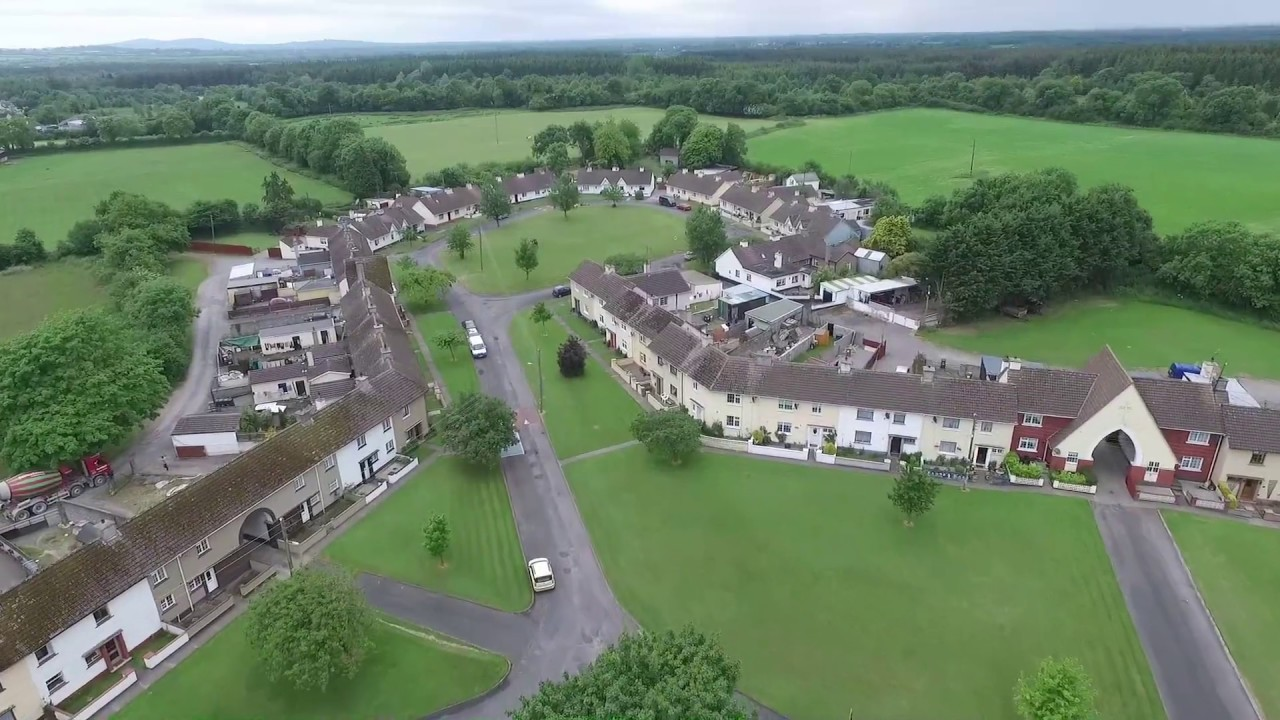 The Village – Coill Dubh from the Air – Co Kildare