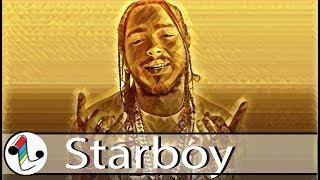 "Post Malone x Trippie Redd Type Beat 2017 ""Starboy"" | Type Beat 2017 | Chill Rap Instrumental"