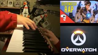 Overwatch Song - A Hero Never Dies - JT Machinima (Piano Cover by Amosdoll)