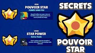 BRAWL STARS - TOUS LES SECRETS DES POUVOIRS STARS !! STAR POWER