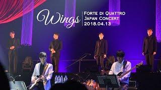 [4K][HAZEL] Wings - 포르테디콰트로 (Forte di Quattro) with Sarah Alainn @일본 오차드홀 콘서트