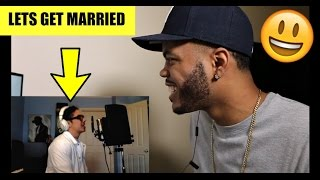 Lets Get Married - Jagged Edge (William Singe Cover) REACTION!!!