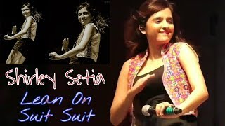 Shirley Setia - Signature Dance Moves on Lean On & Suit Suit | Ceramic City (Morbi) - Live Concert