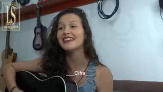 """Luanna Silva Musica Sertanejo """" Incerteza """"  Matheus e Kauan ( Cover ) """" com """" Cifra Fácil  """""""