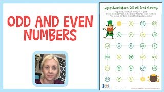 Odd and Even Numbers - Learn Numbers for 1st and 2nd Grade  - Kids Academy