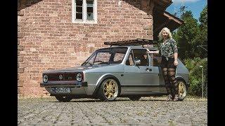 The VW Angel Golf 1 -  Tuning  | Girl Power