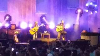"Dave Matthews and Tim Reynolds ""Melissa"" (Allman Brothers cover) Verizon Amphitheater 5/31/17"