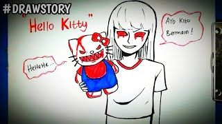 Asal Usul Boneka Hello Kitty || DRAWSTORY