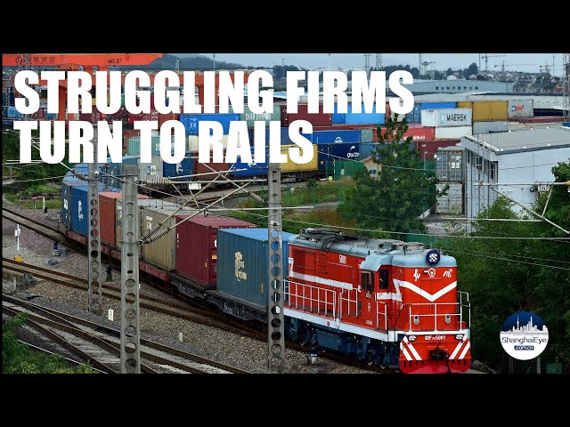 Rising shipping costs force Chinese exporters to switch to rail freight