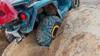 Outlander 800 max xt-p got stuck in sand