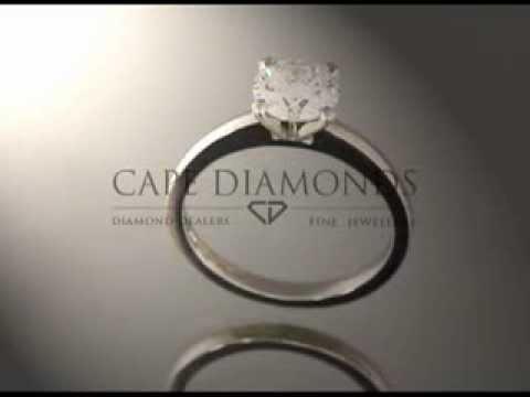 Solitaire ring,platinum,white diamond,engagement ring