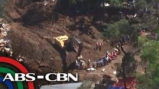 TV Patrol: Bunkhouse, simbahan sa Itogon landslide, natumbok na
